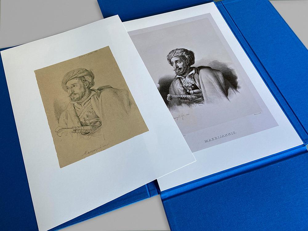Λεύκωμα: Η Αγιογραφία του Αγώνα – Καρλ Κρατσάϊζεν – Εικόνες των Αγωνιστών του Εικοσιένα